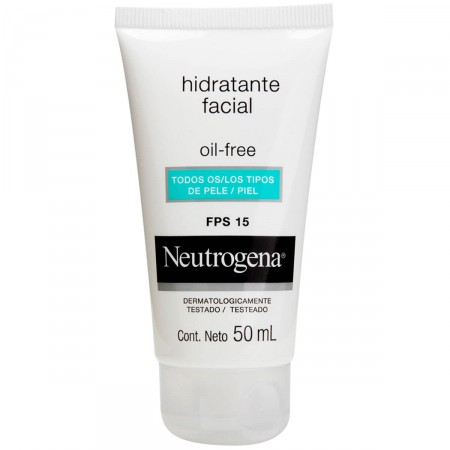 Gel Creme Hidratante Facial Oil Free FPS 15