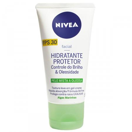 Hidratante Protetor Nivea Controle do Brilho e Oleosidade FPS30