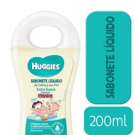 Sabonete Líquido Huggies Turma da Mônica Extra Suave