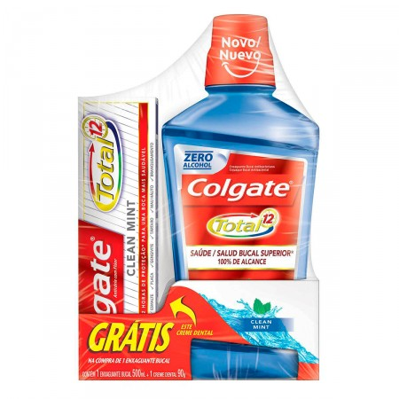 Kit Colgate Total 12 Clean Mint