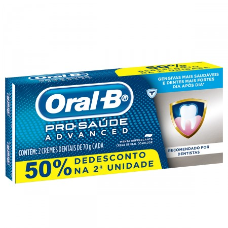Creme Dental Oral-B Pro-Saúde Advanced
