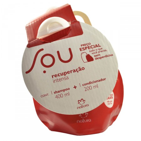 Kit Shampoo + Condicionador SOU Recuperação Intensa