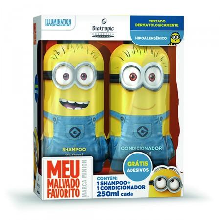 Kit Shampoo + Condicionador Infantil Minions