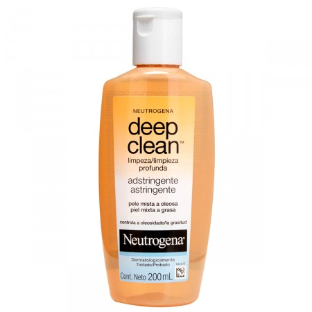 Adstringente Neutrogena Deep Clean Limpeza Profunda