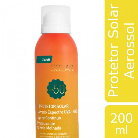 Protetor Solar Aerossol FPS 50