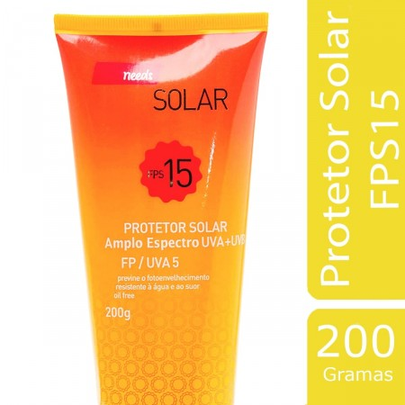 Protetor Solar FPS 15
