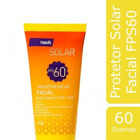 Protetor Solar Facial FPS 60