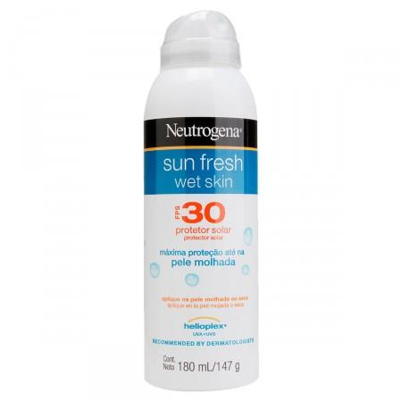 Protetor Solar Wet Skin Neutrogena Sun Fresh FPS30