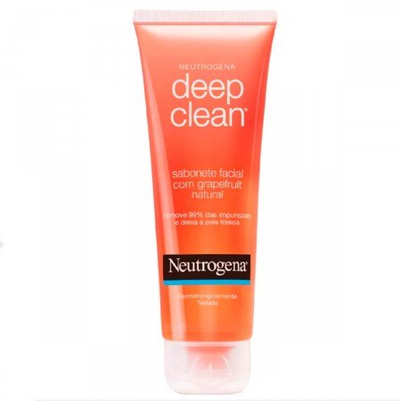Gel Limpeza Neutrogena Deep Clean Grapefruit
