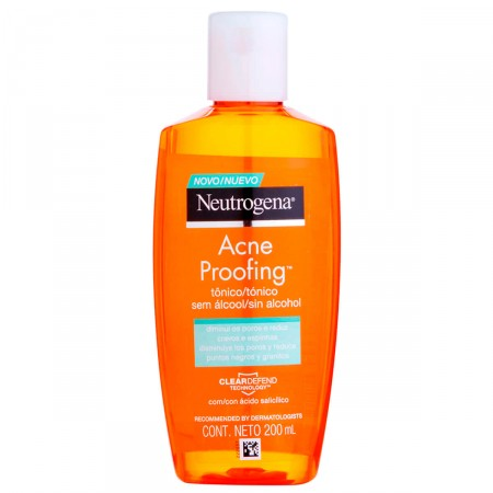 Tônico sem Álcool Neutrogena Acne Proofing