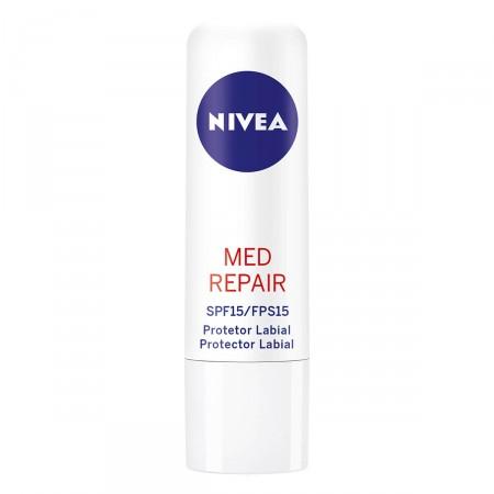 Protetor Labial Nivea Med Protection FPS 15