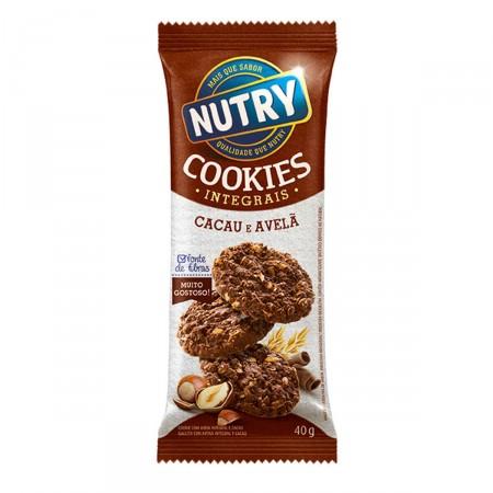 Cookies Integrais Cacau e Avelã