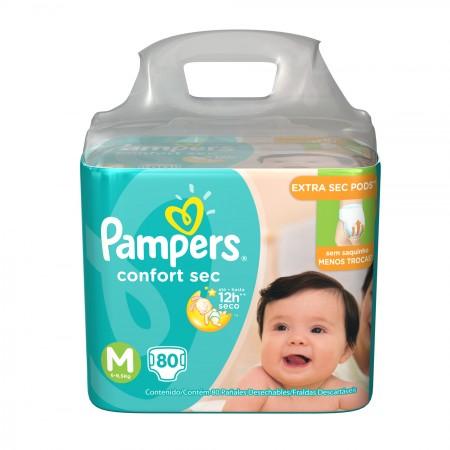 Fralda Pampers Confort Sec Tamanho M