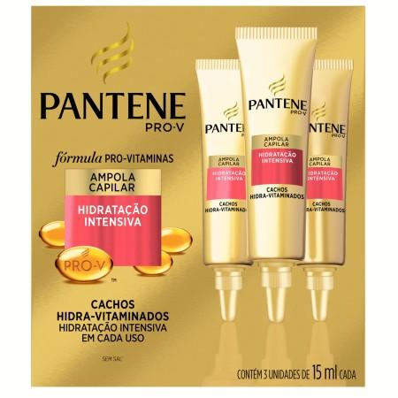 Ampola Capilar Pantene Pro-V Cachos Hidra-Vitaminados
