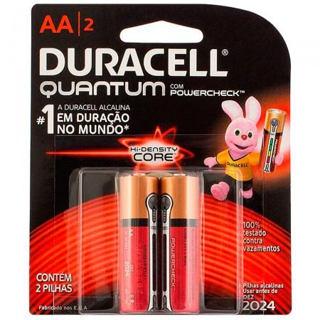 Pilhas Alcalinas Quantum Powercheck AA2