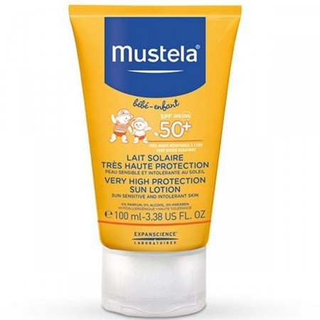 Protetor Solar Mustela Bebê e Infantil FPS50