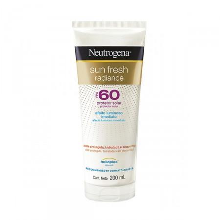 Protetor Solar Neutrogena Sun Fresh Radiance FPS60