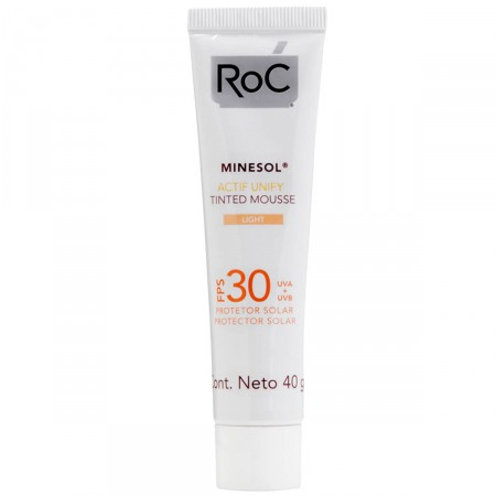 Protetor Solar Minesol Actif Unify Tinted Mousse Light FPS30