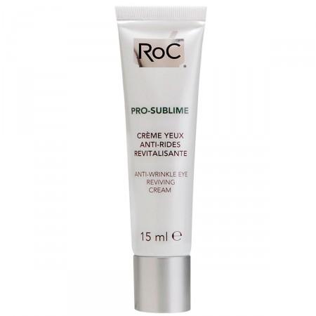 Creme Antirrugas Rejuvenescedor para os Olhos Roc Pro-Sublime