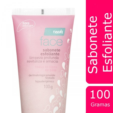 Sabonete Esfoliante Facial