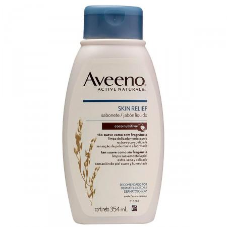 Sabonete Líquido Skin Relief Aveeno Coco