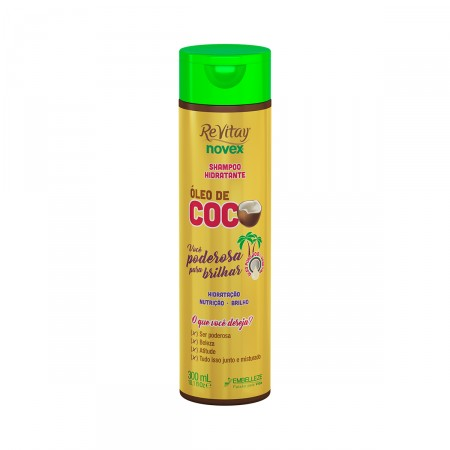 Shampoo Revitay Novex Óleo de Coco