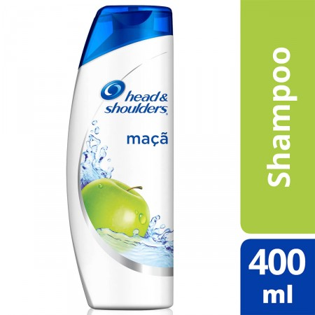 Shampoo Head & Shoulders Anticaspa Maçã Verde 400 ml | Droga Raia