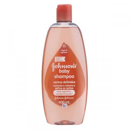 Shampoo Johnson's Baby Cachos Definidos