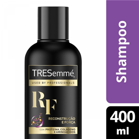 Shampoo Tresemmé Reconstrução e Força