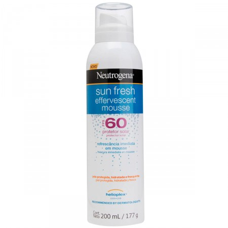 Protetor Neutrogena Sun Fresh Mousse Efervescente FPS60