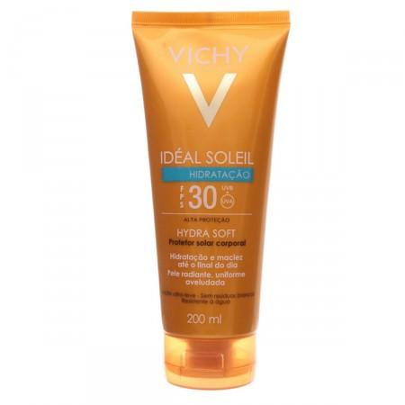 Protetor Solar Vichy Ideal Soleil Hydrasoft FPS30