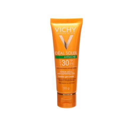 Protetor Solar Vichy Idéal Soleil Antiacne FPS30
