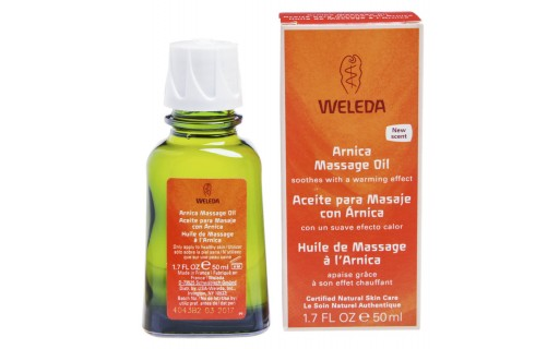 Óleo para Massagem com Arnica 50ml Weleda   Droga Raia - Foto 1