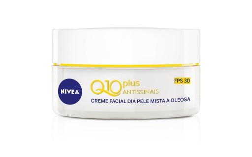 Creme Facial Dia Nivea Q10 Plus Antissinais 52 gramas | Droga Raia