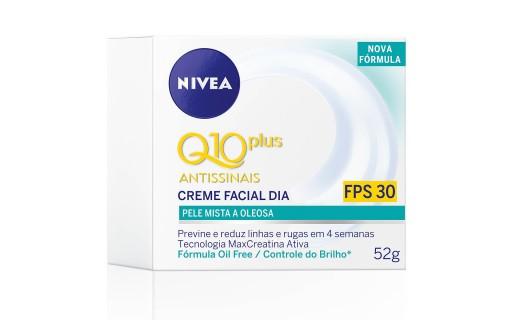 Creme Facial Dia Nivea Q10 Plus Antissinais 52 gramas | Droga raia foto 2