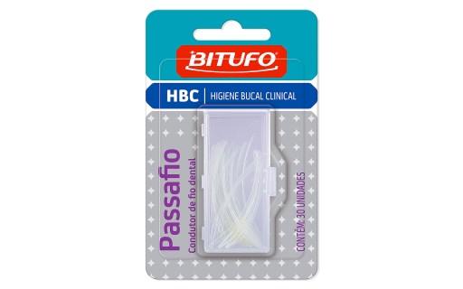 Bitufo Condutor de Fio Dental com 30 unidades | Droga Raia