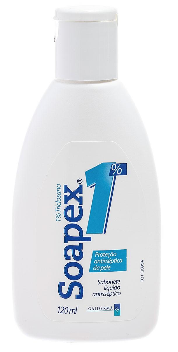 Soapex Sabonete Lìquido Galderma 120ml