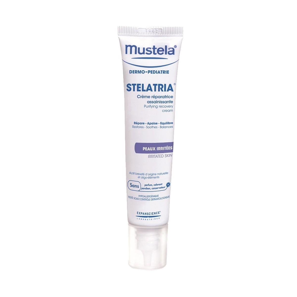 Creme Reparador Purificante Stelatria Mustela 40 ml