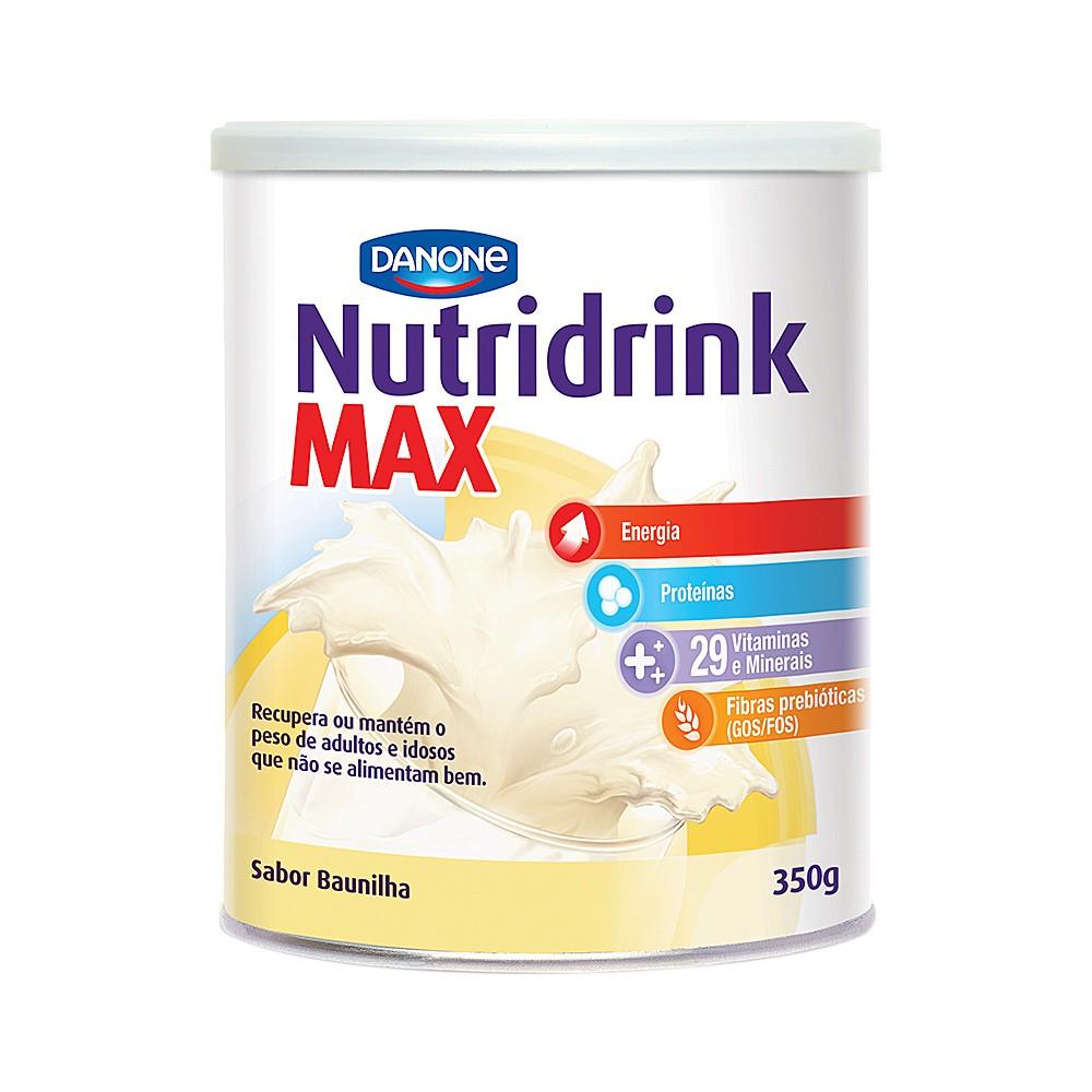 Suplemento Nutricional Sabor Baunilha Nutridrink Danone 350g