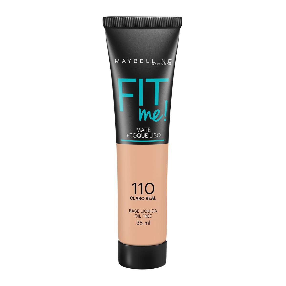 Base Liquida Maybelline Fit Me Nº 110 Claro Real Maybelline 35ml - brand
