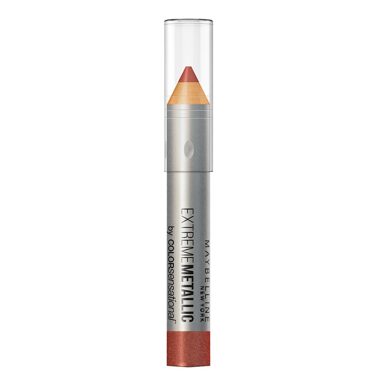 Batom Lápis Maybelline Color Sensational Extreme Metallics Nº90 Cor Deixa Eu Brilhar Maybelline 1 Unidade