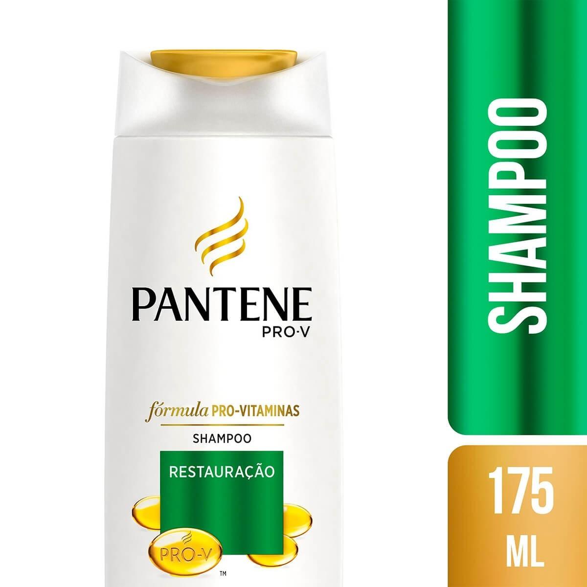 Shampoo Pantene Restauração Profunda 175ml