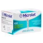 Lanceta para Controle de Glicemia Microlet