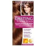 Coloração Permanente Casting Creme Gloss N° 734 Mel Dourado