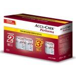 Kit Tiras Accu-Chek Performa para Teste de Glicemia