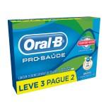 Kit Creme Dental Oral B Pró-Saúde com Escudo Anti Açúcar