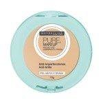 Pó Compacto Maybelline Pure Makeup Arena Natural