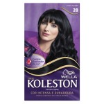 Tintura Creme Koleston Nº28 Preto Azulado