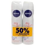 Kit Desodorante Aerosol Nivea Dry Comfort