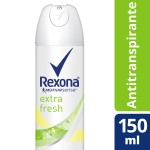 Desodorante Aerosol Rexona Extra Fresh